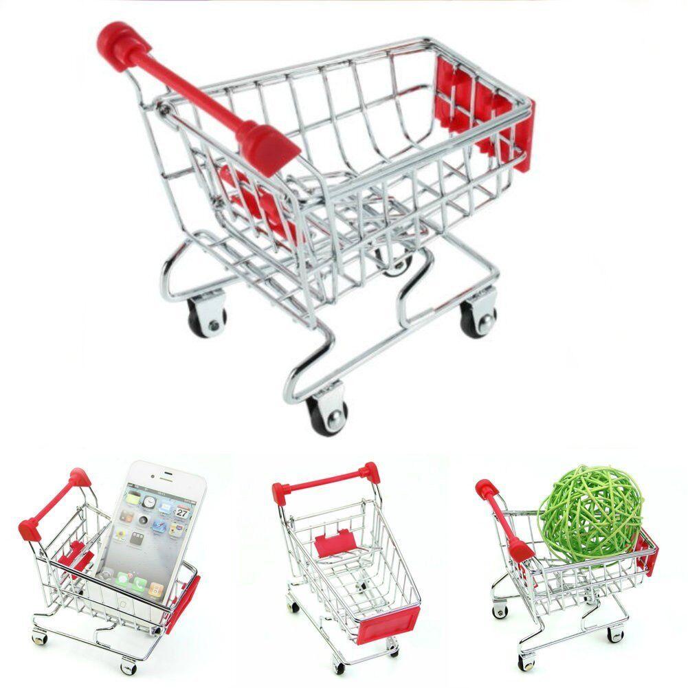 Supermarket Handcart Shopping Storage Utility Cart Mode Storage Shopping Trolley Basket MML 3a070e