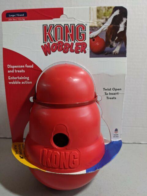 Kong WOBBLER Treat Dispensing Dog Toy LARGE