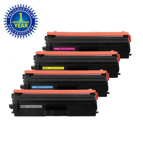 4PK TN433 TN431 Toner Cartridge For Brother HL-L8260CDW HL-L8360CDW MFC-L8610CDW
