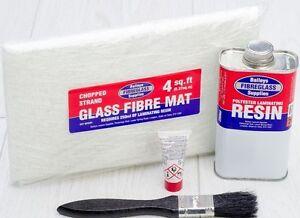 Fibre Glass Grp Car Boat Repair Kit