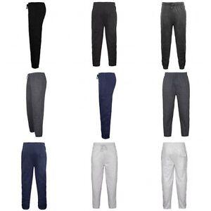 Plan-De-Chandal-Polar-Pantalones-chandal-para-hombre-Pista-Pantalones-deportivos-jogging-Cardio