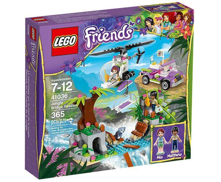 LEGO® Friends 41036 Jungle Bridge Rescue NEU OVP NEW MISB NRFB