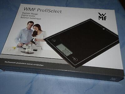 WMF Select it Küchenwaage Schwarz Ovp Digital Waage bis 5 kg