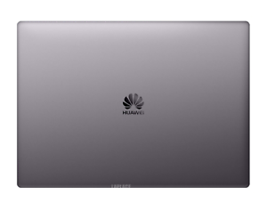 Grey LCD back cover for HUAWEI MateBook X Pro 13.9 with Hinges Rear Lid