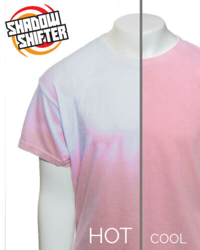 Shadow Shifter KIDS PINK Unisex Color Changing T-Shirt Like Hypercolor