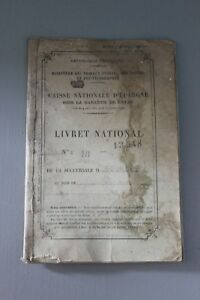 Livret National Caisse Nationale D Epargne Rf Bourges 1889 Ebay