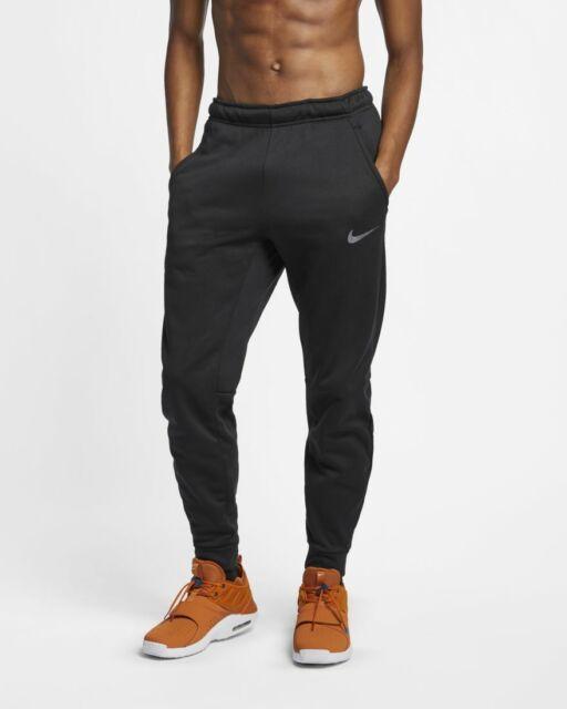 nike dri fit black joggers