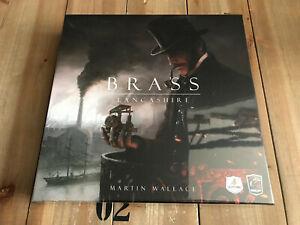 juego de mesa - BRASS LANCASHIRE - Maldito Games - Edición en español - Wallace