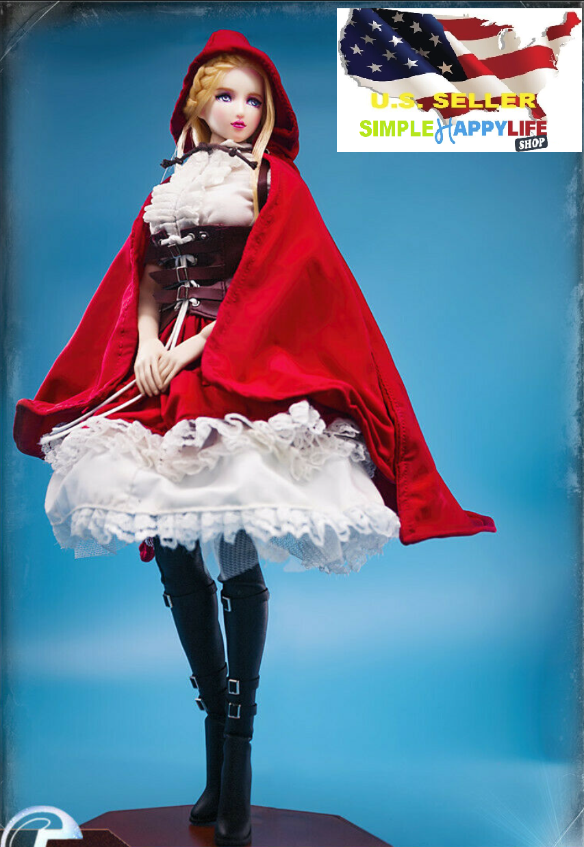 1 6 Lolita Clothes Little rot Riding Hood for phicen 12  female figure ❶USA❶