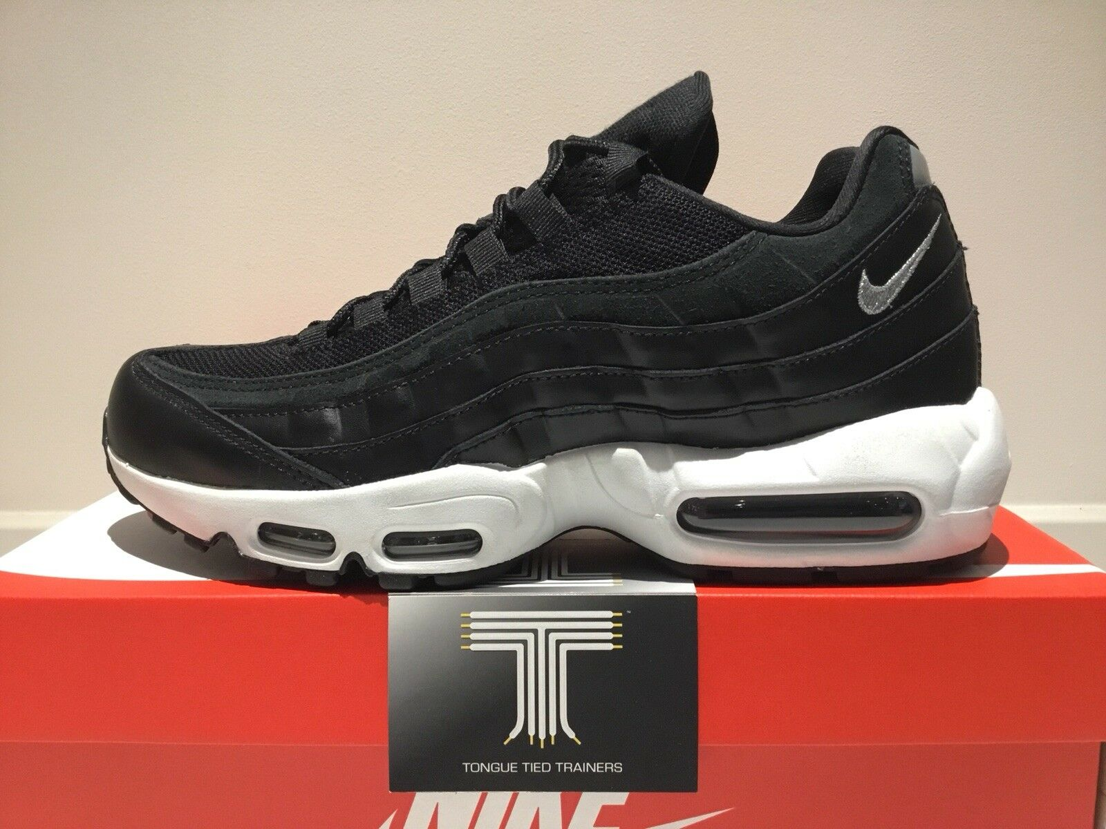 "Nike Air Max 95 Premium ""Rebel Skulls"" ~ 538416 008 ~ Uk"