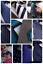 Bleu-Sarcelle-Bleu-Marine-Essence-Bleu-Fonce-Cravate-en-soie-Design-Italien-MILANO-Exclusive miniature 1