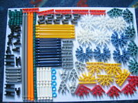 KNEX Assortment of K'nex - 124 pieces