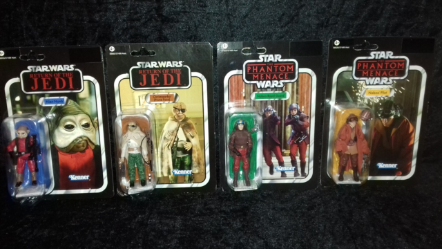 Star Wars The Vintage Collection, Hasbro, #72 Naboo Pilot…