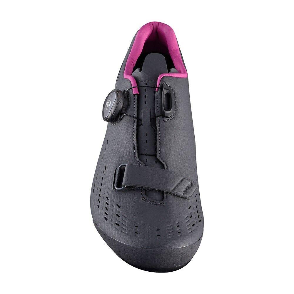 Shimano 2018 RP7 Donna Carbon Road scarpe Bike Boa Cycling scarpe Road Gris - 44 (US 11.2) 3d89ce