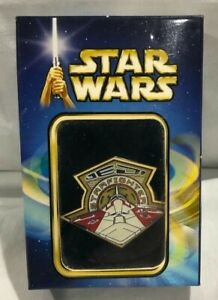 2002-Disney-AMC-Exclusive-AotC-Movie-Release-Boxed-JEDI-STARFIGHTER-Pin-LE