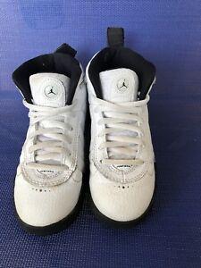 24a0a4af93b4d9 Air Jordan Kids Jumpman Pro(PS) 909419-103 White Grey Black