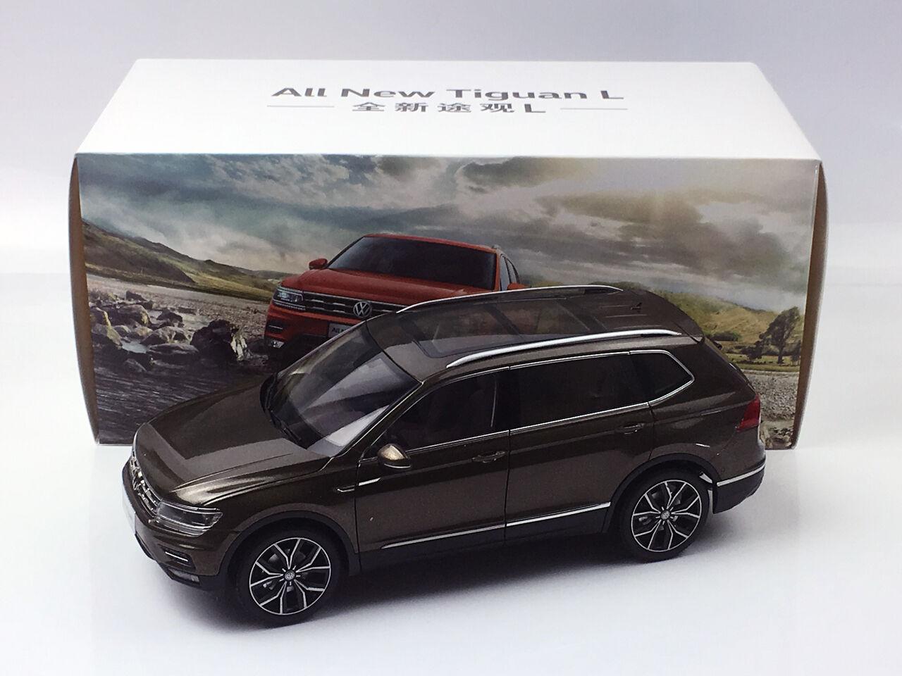 1 18 Volkswagen tout nouveau TIGUAN L Marron diecast metal model