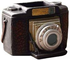 New Vintage Camera Pen Pencil Cup Holder Desk Organizer Photographer Gift