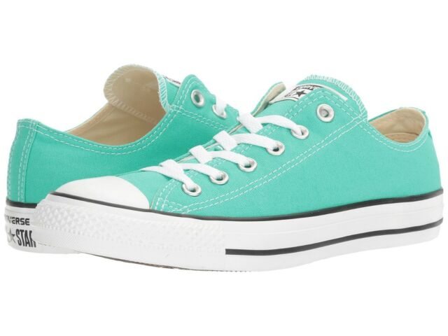 69ad30faeded Converse Chuck Taylor All Star Low Top Seasonal Color Menta Shoes ...