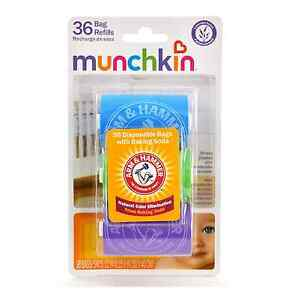 Details About Arm Hammer By Munchkin Bag Dispenser Refill 36 Ea