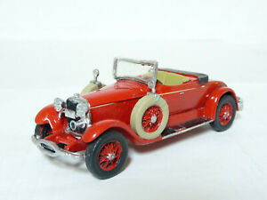 Danbury-Mint-1-43-1927-Lincoln-Sportster-Hand-painted-Pewter-Metal-Model-Car