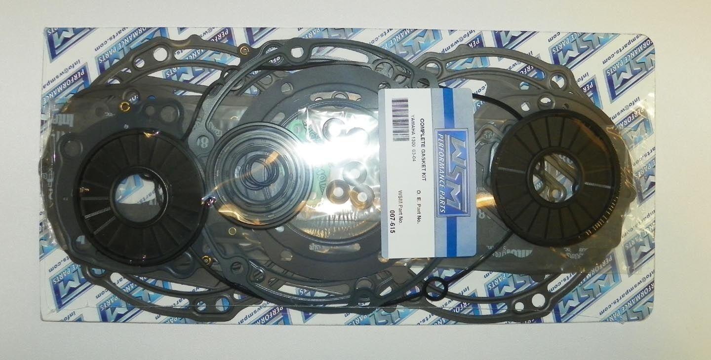 Kompletter Dichtungssatz Yamaha Waverunner 2003-2004 GP1300R Wsm 007-615 007-615 007-615 53e8e3