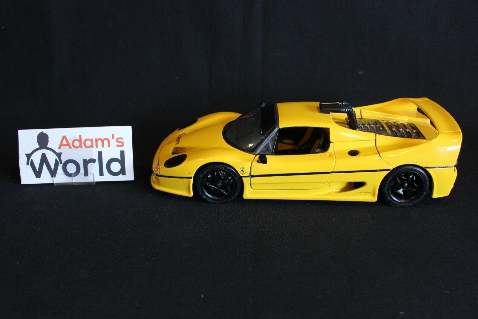Maisto Transkit Ferrari F50 GT  Test Version  1 18 Gelb (PJBB)