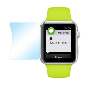 3x-Super-Clear-Schutz-Folie-Apple-Watch-38mm-Klar-Durchsichtig-Display-Protector