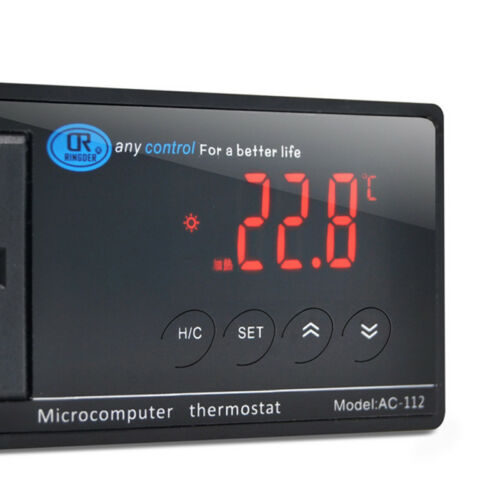 Digital LED Temperature Controller Thermostat 110V//220V Perfect For Aquarium