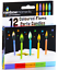 12-Pack-Candles-With-Holders-Birthday-Party-Wedding-Cake-Topper-Decoration-7-5cm thumbnail 12