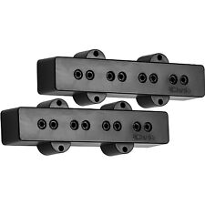 NEW DiMarzio Model J for Fender Jazz Bass PICKUP SET Pickups Black DP123 DP123BK