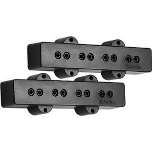 new dimarzio model j for fender jazz bass pickup set pickups black dp123 dp123bk ebay. Black Bedroom Furniture Sets. Home Design Ideas