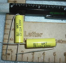 224j 224 0.22uF 0.22mfd 220n 5% 630v axial metallized polyester capacitor cap