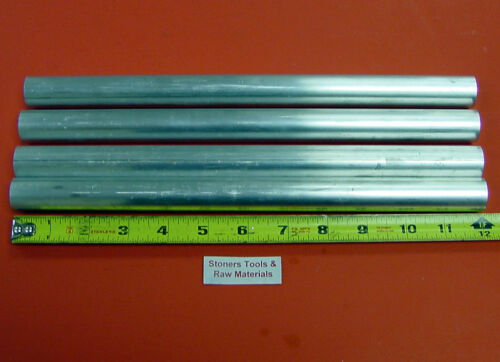 """5 Pieces 4/"""" ALUMINUM 6061 ROUND SOLID ROD 2/"""" LONG T6511 4.00/"""" OD Lathe Bar Stock"""