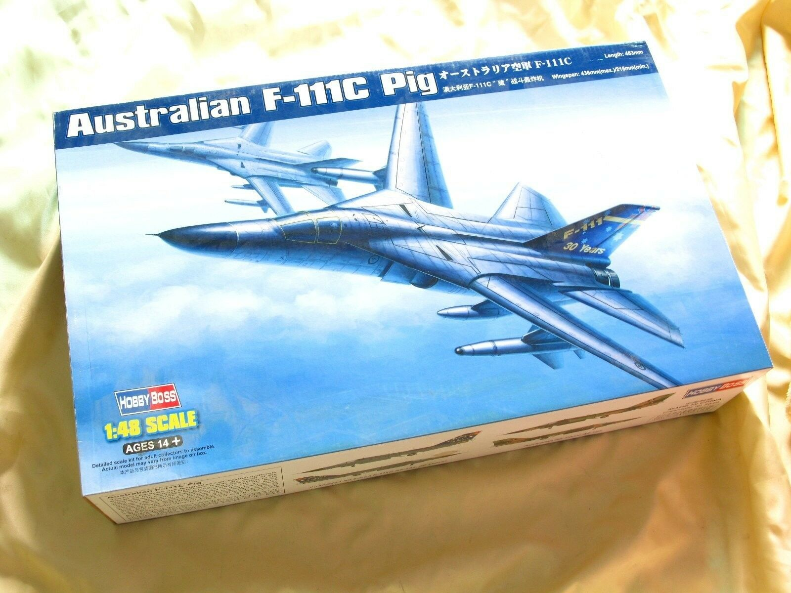 Trumpeter 80349 Aircraft Model Jet 1 48 Scale Airplane F-111C Pig Bomber Fighter