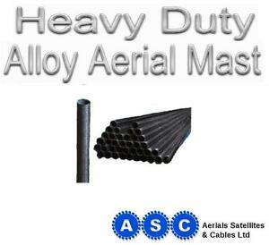 8ft-Aerial-Pole-8ft-by-1-5-034-TV-Aerial-Mast-8-039-Aerial-Mast-Heavy-Dust-Version