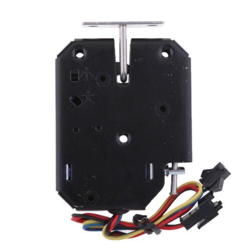 1 Stück Mehrzweck 12V 2A Elektromagnet Schloss Elektromagnetische Verriegelung