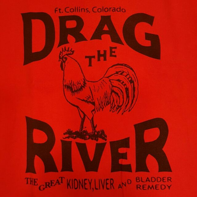 DRAG THE RIVER ~ Large T-shirt ~ Armchair Martian Nobodys ...