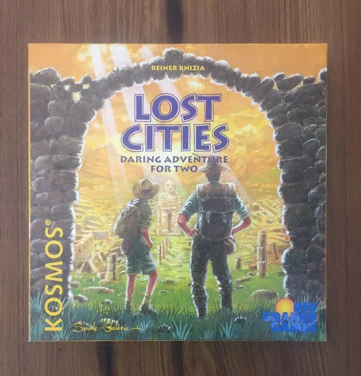 Lost Cities Board Game - Daring Adventure For Two - 1999