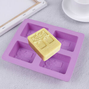4-Cavity-Tree-Silicone-Mold-Cake-Soap-Mould-Cookie-Chocolate-Mold-DIY-Bakin-S