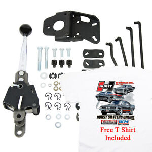 Details about Hurst 5030030 Indy Manual 4 Speed Shifter, Universal Muncie  T10 GM, Free T Shirt