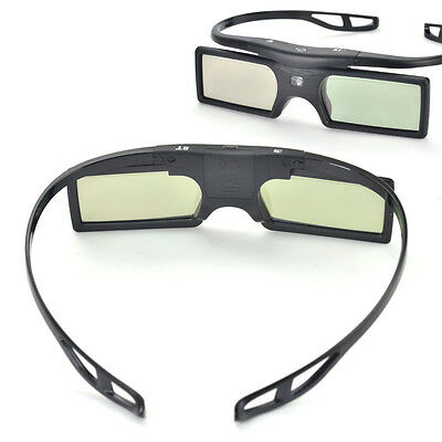 Bluetooth 3D Active Shutter LCD Glasses for 3D Samsung HDTV Blue-ray New