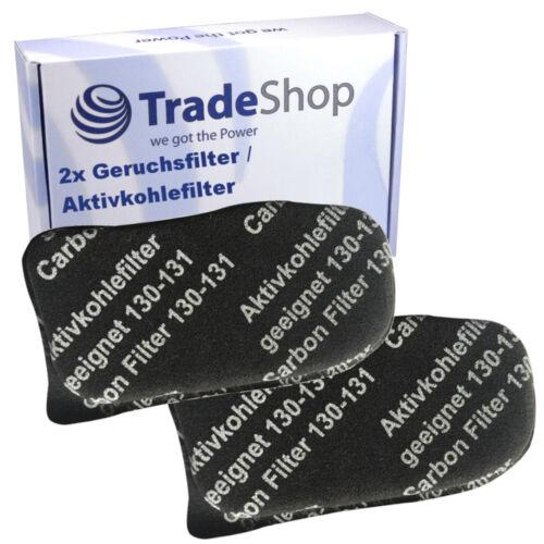 2x Aktiv-Geruchsfilter Aktivkohlefilter passend für Vorwerk Kobold VK 130 131 SC