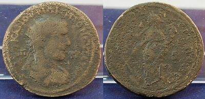 Ancient Open-Minded Provinzialprägung Ae 35 247-49 Antique/roman Empire Philip Ii S-ss