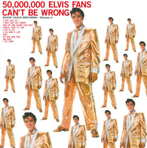 Elvis-Presley-50-000-000-Elvis-Fans-Can-039-t-Be-Wrong-180gram-Vinyl-LP-NEW