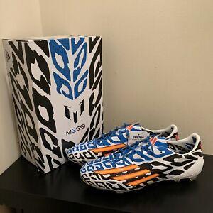 Adidas F50 Adizero Fg Messi World Cup 2014 Edition Soccer Boots Us 9 5 M19855 Ebay
