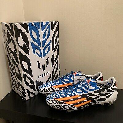 adidas F50 adizero FG Messi World Cup 2014 Edition Soccer Boots US 9.5 (M19855)