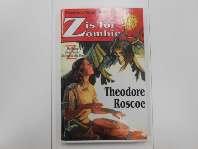Z Is for Zombie Vol. 2 by Theodore Roscoe (1989, Hardcover) New Old Stock RARE!