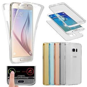 360-Full-TPU-Case-fuer-Samsung-Galaxy-Schutz-Huelle-Handy-Tasche-Transparent-Cover