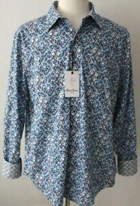 Robert Graham Mens Classic Fit ARBORFIELD Sport Shirt Size XL - NWT